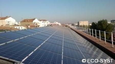 Photovoltaique 64kWc dans l'Hérault