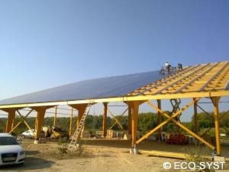 Photovoltaique 250kWc dans l'Hérault