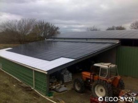 Photovoltaique 66kWc dans l'Hérault